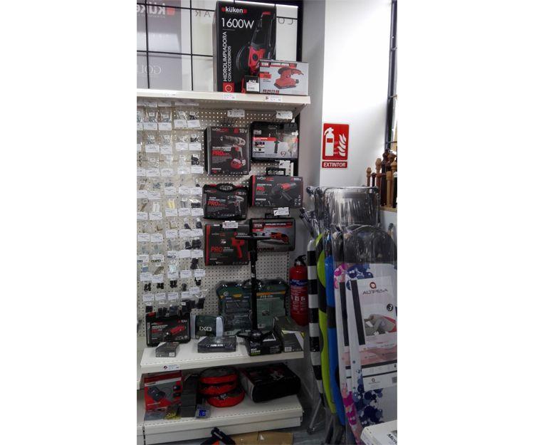 Venta de artículos de ferretería a particulares en Madrid