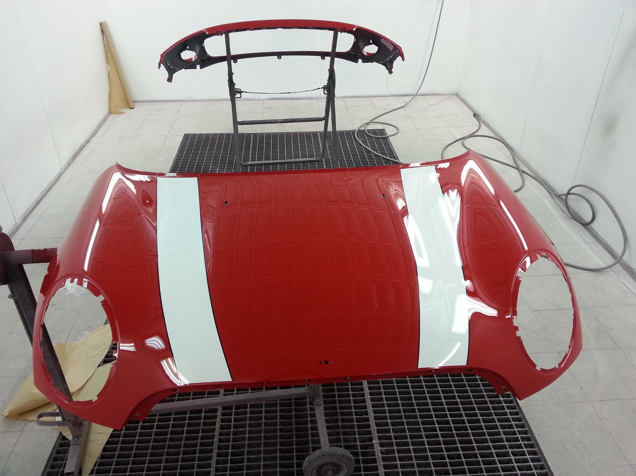 Reparación y pintura de carrocerías