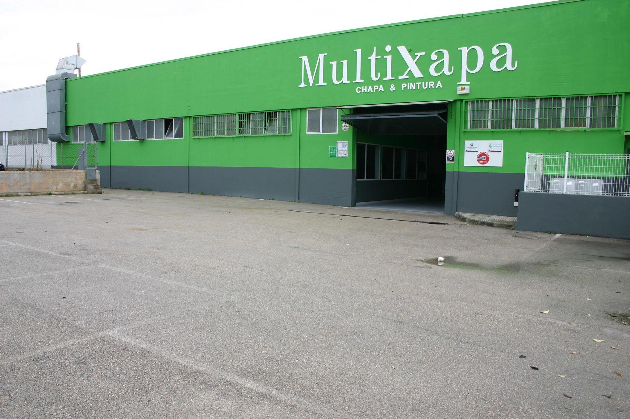 Multixapa, taller de chapa y pintura