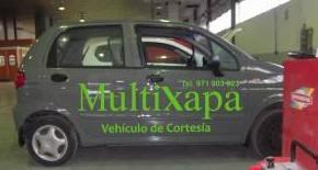 Vehículo sustitución: Servicios y productos de Multixapa Chapa & Pintura
