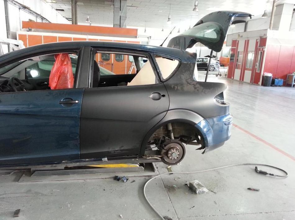 Reparación carrocería: Servicios y productos de Multixapa Chapa & Pintura