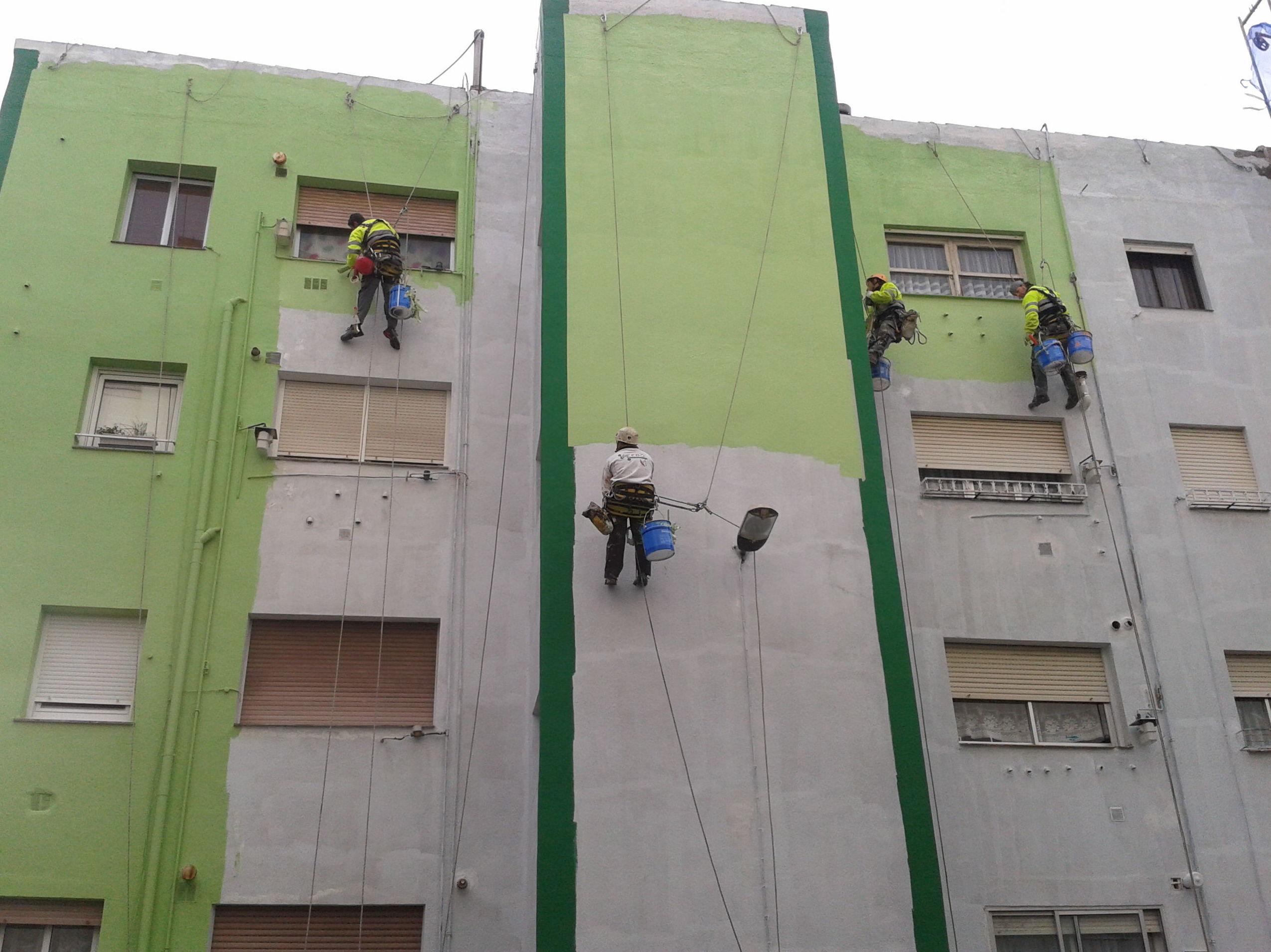 Trabajos verticales en Cantabria de la mano de Acebo Vertical