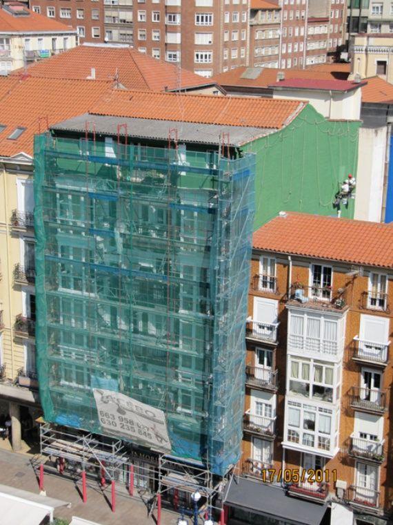 Foto 84 de Trabajos verticales en Torrelavega | Acebo Trabajos Verticales