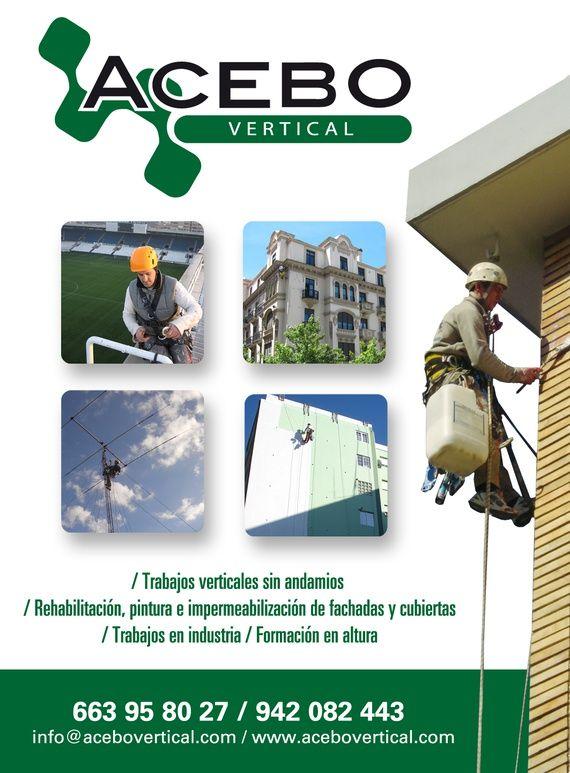 Foto 92 de Trabajos verticales en Torrelavega | Acebo Trabajos Verticales