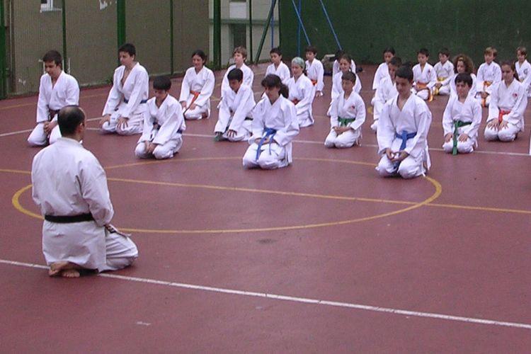 Clases de kárate en nuestro colegio en Santander