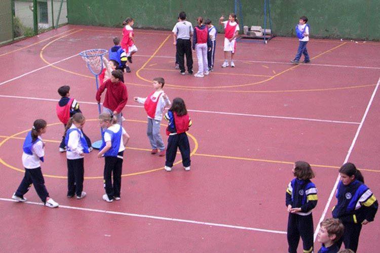Clases de baloncesto en nuestro colegio en Santander