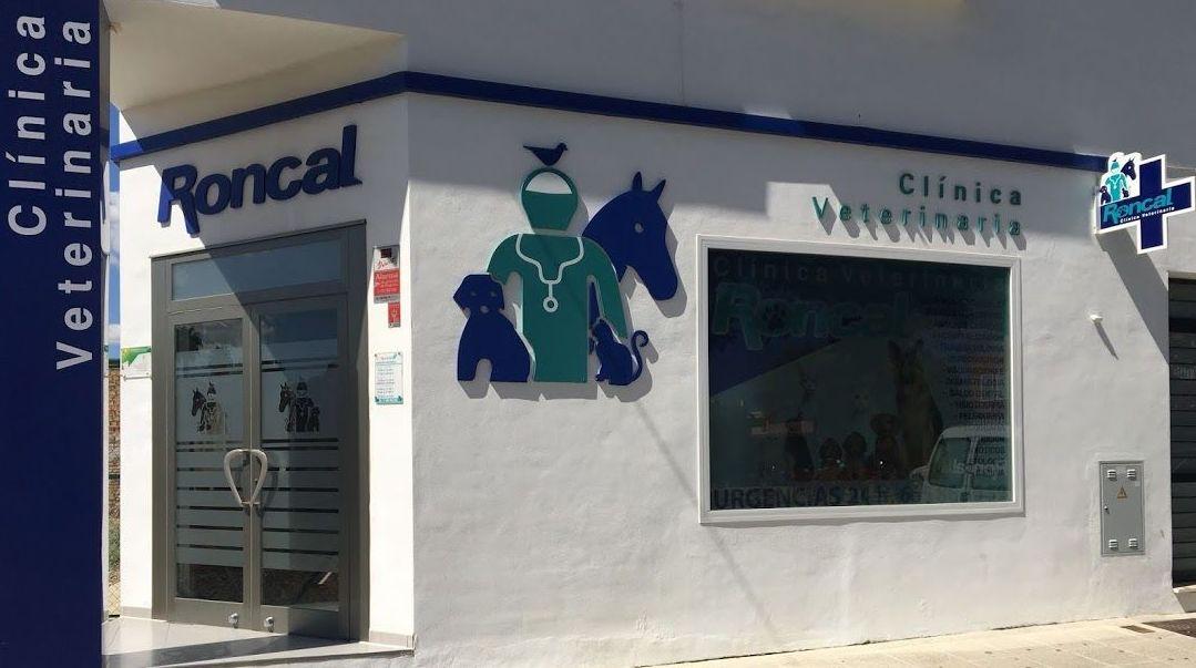 Fachada de nuestra clínica veterinaria