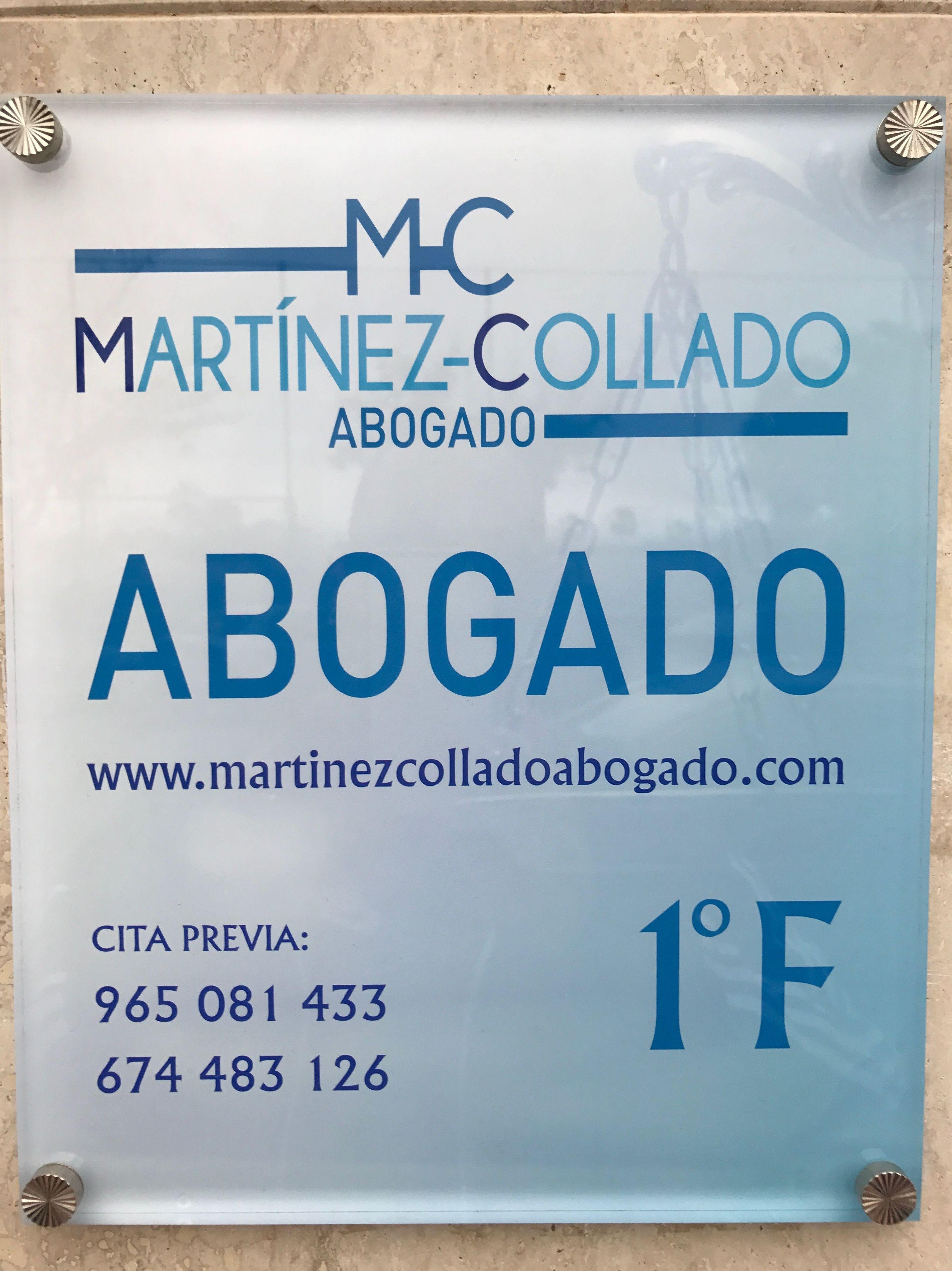 Foto 6 de Abogados en San Vicente del Raspeig | Martínez Collado Abogado