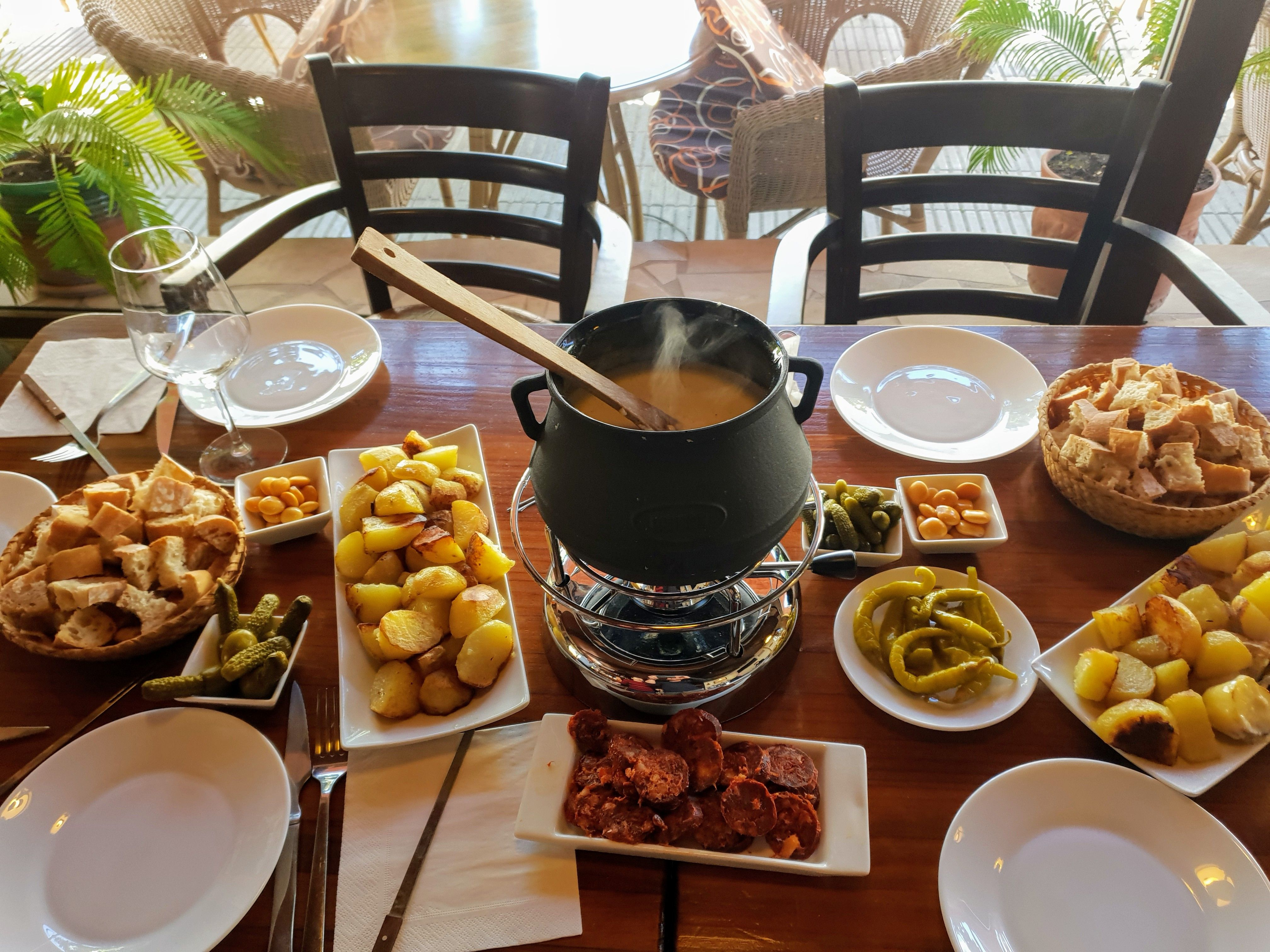 Cocina francesa, Fondue, Raclettes
