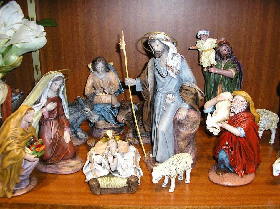 Bellostas, figuras tradicionales de belenes en Zaragoza