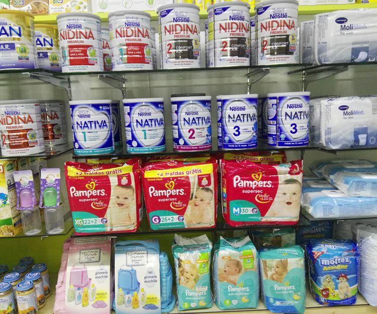 Productos de alimentación e higiene infantil en San Bartolomé de Tirajana