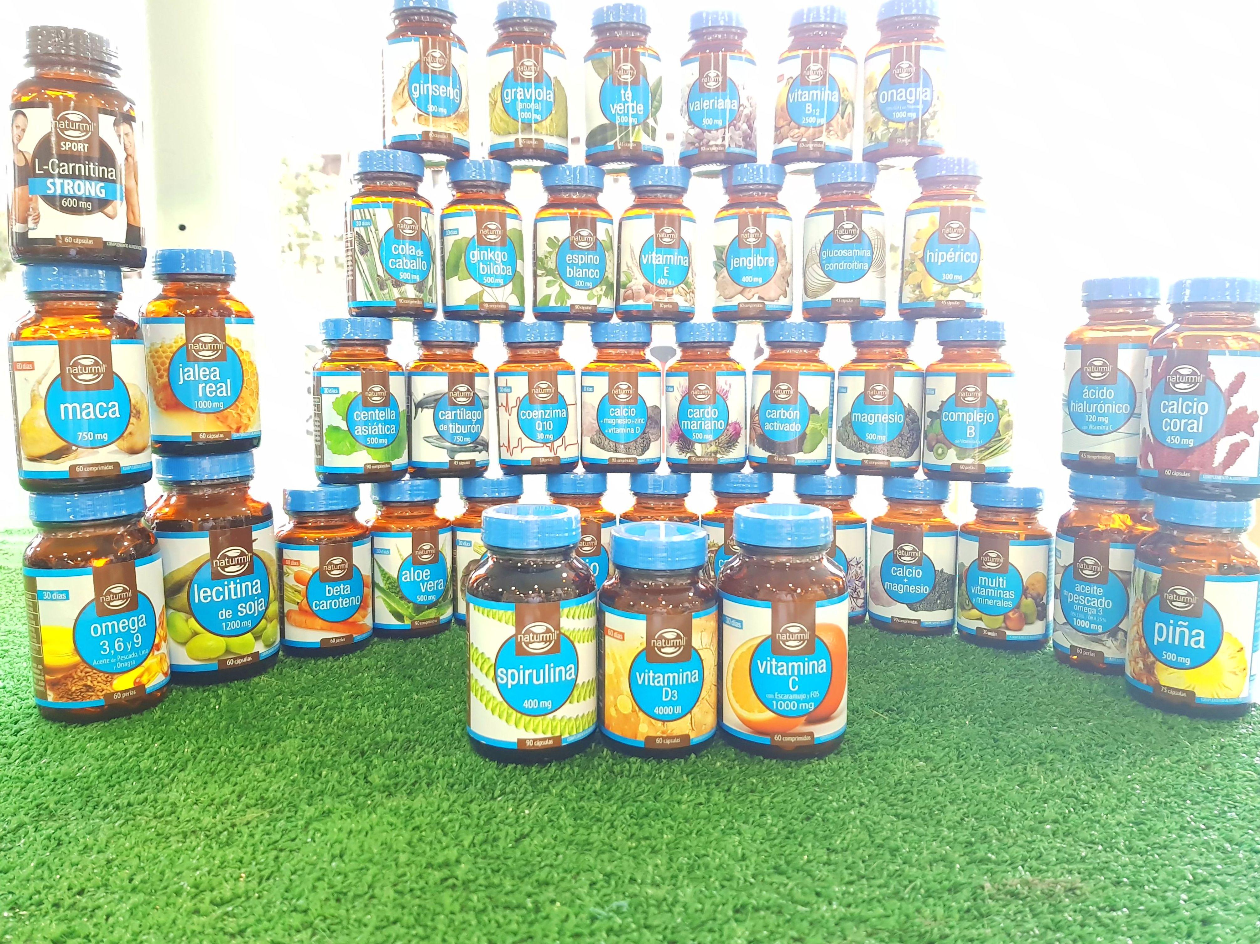 Gran variedad de Vitaminas