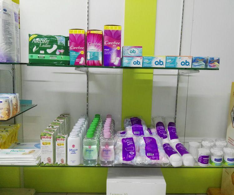 Productos de higiene femenina en San Bartolomé de Tirajana
