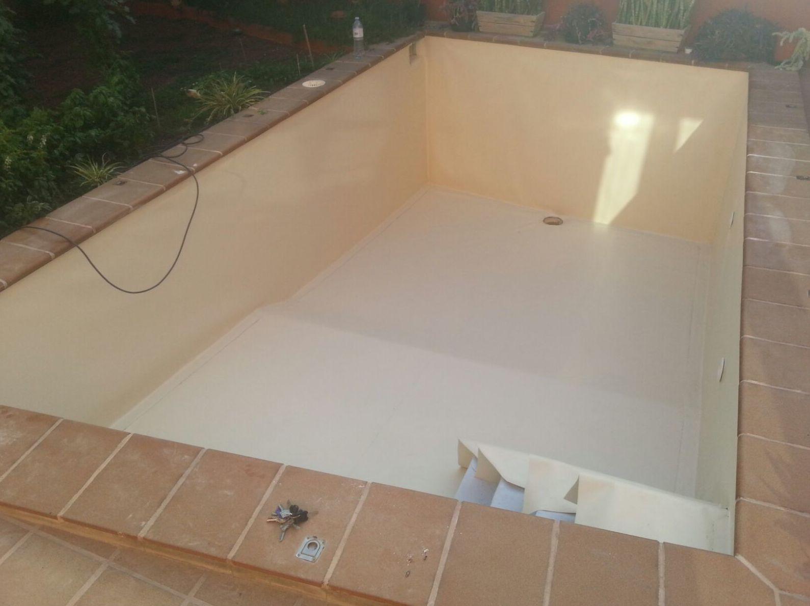 Proceso reparación piscina: Productos de Fuerteventura - Lanzarote - Gran Canaria
