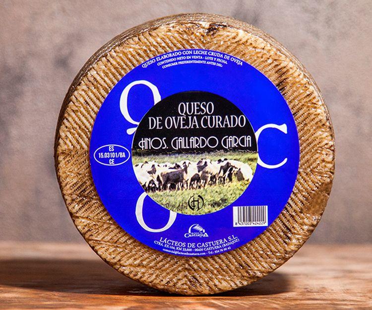 Queso de oveja Hermanos Gallardo en Badajoz
