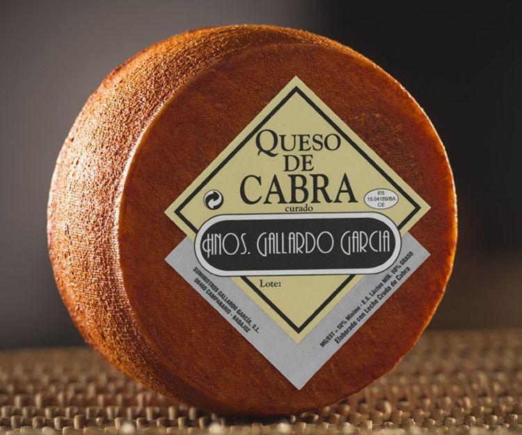 Queso de cabra Gallardo García en Badajoz