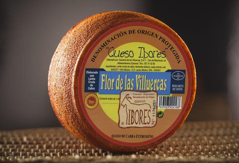 """Flor de las Villuercas. Denominación de origen """"Queso de los Ibores"""""""