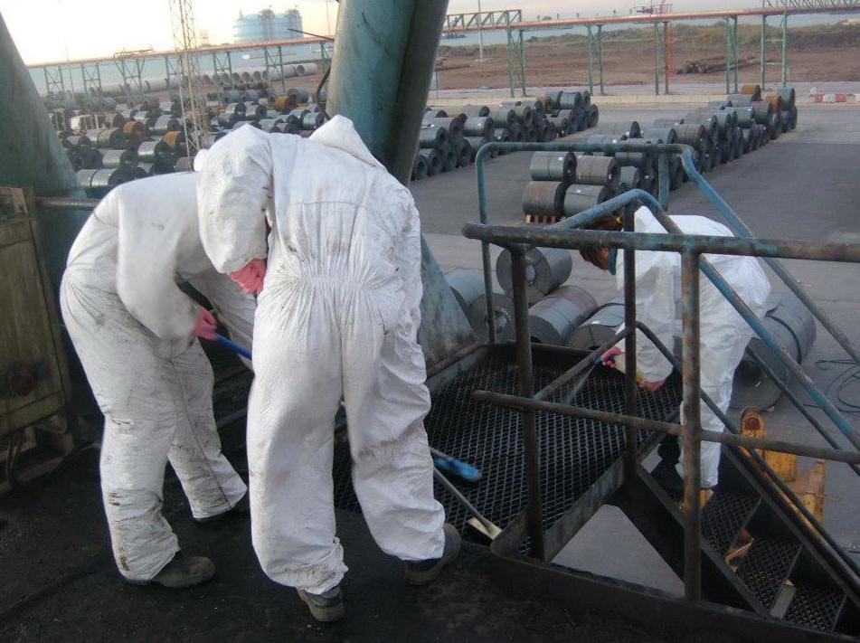 Servicio de limpieza industrial