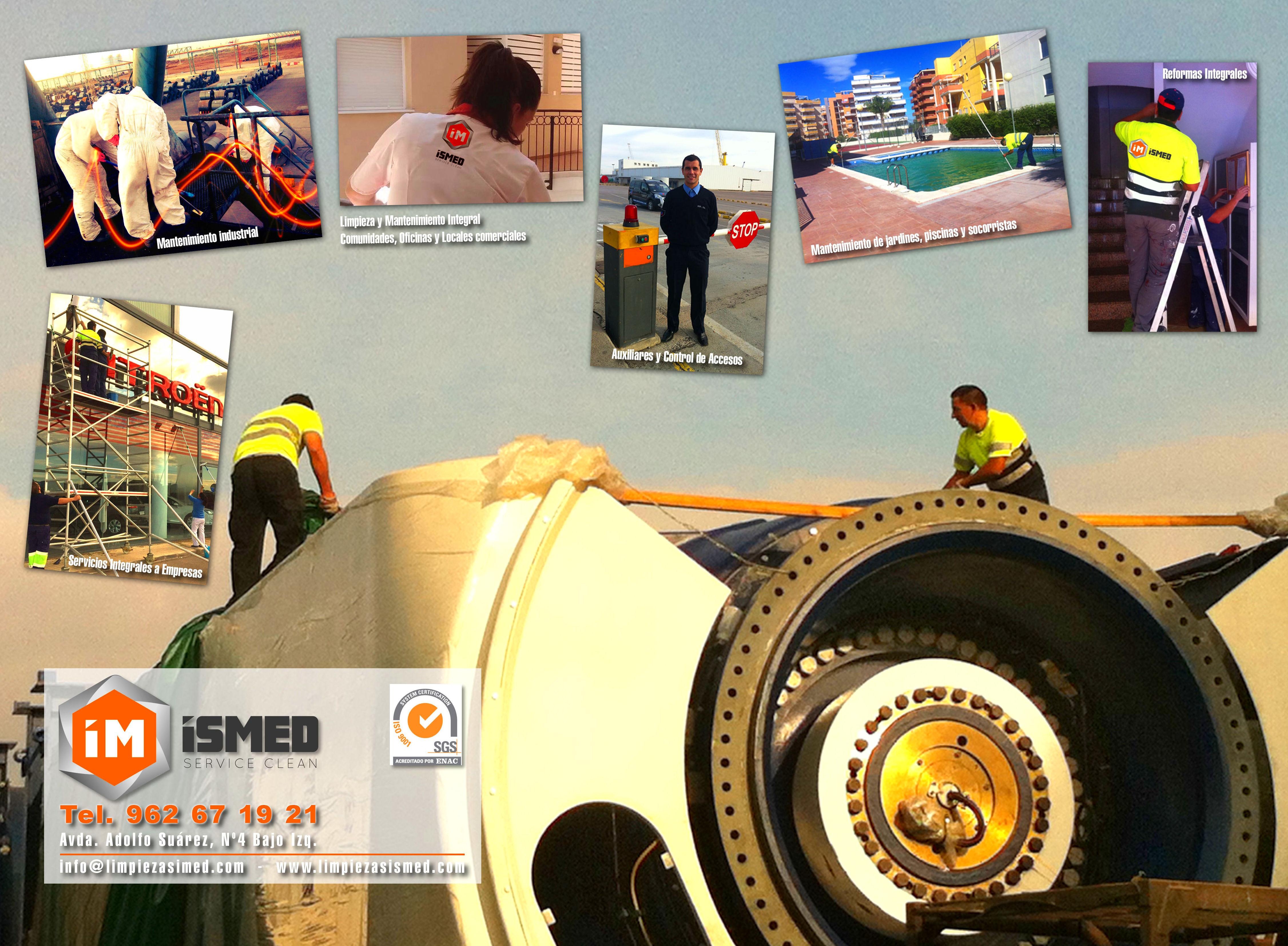 Foto 4 de Empresas de limpieza en Puerto Sagunto | Ismed Servicios Integrales