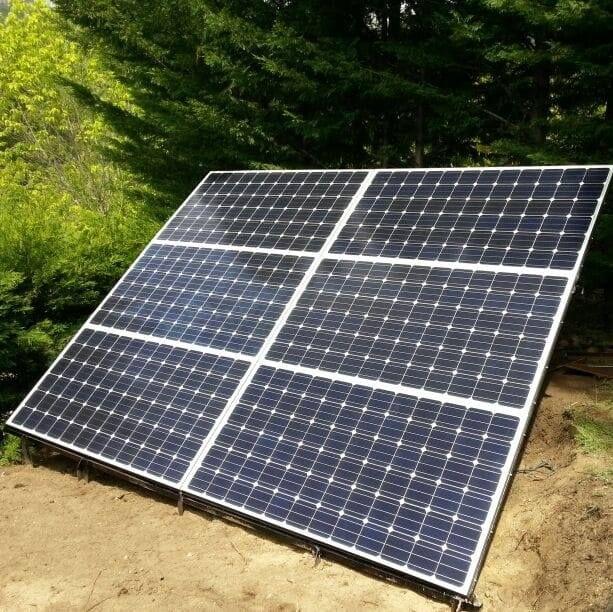 Energía solar / eólica