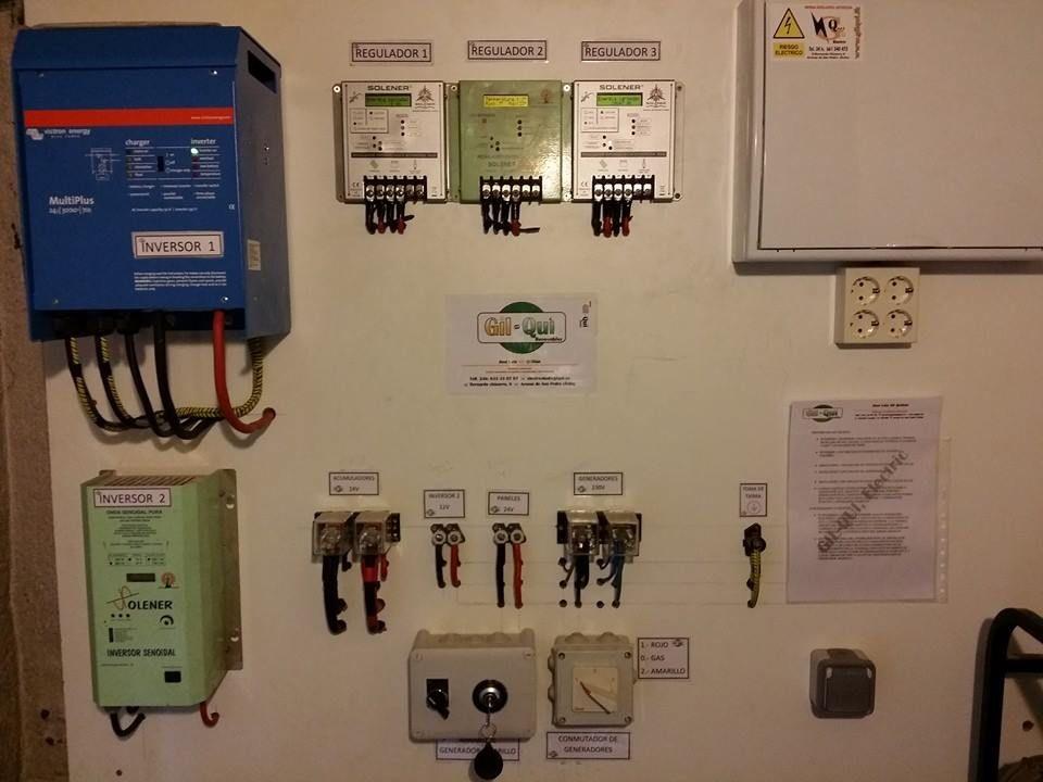 Instalación y reparación de cuadros eléctricos. Aumentos de potencia.