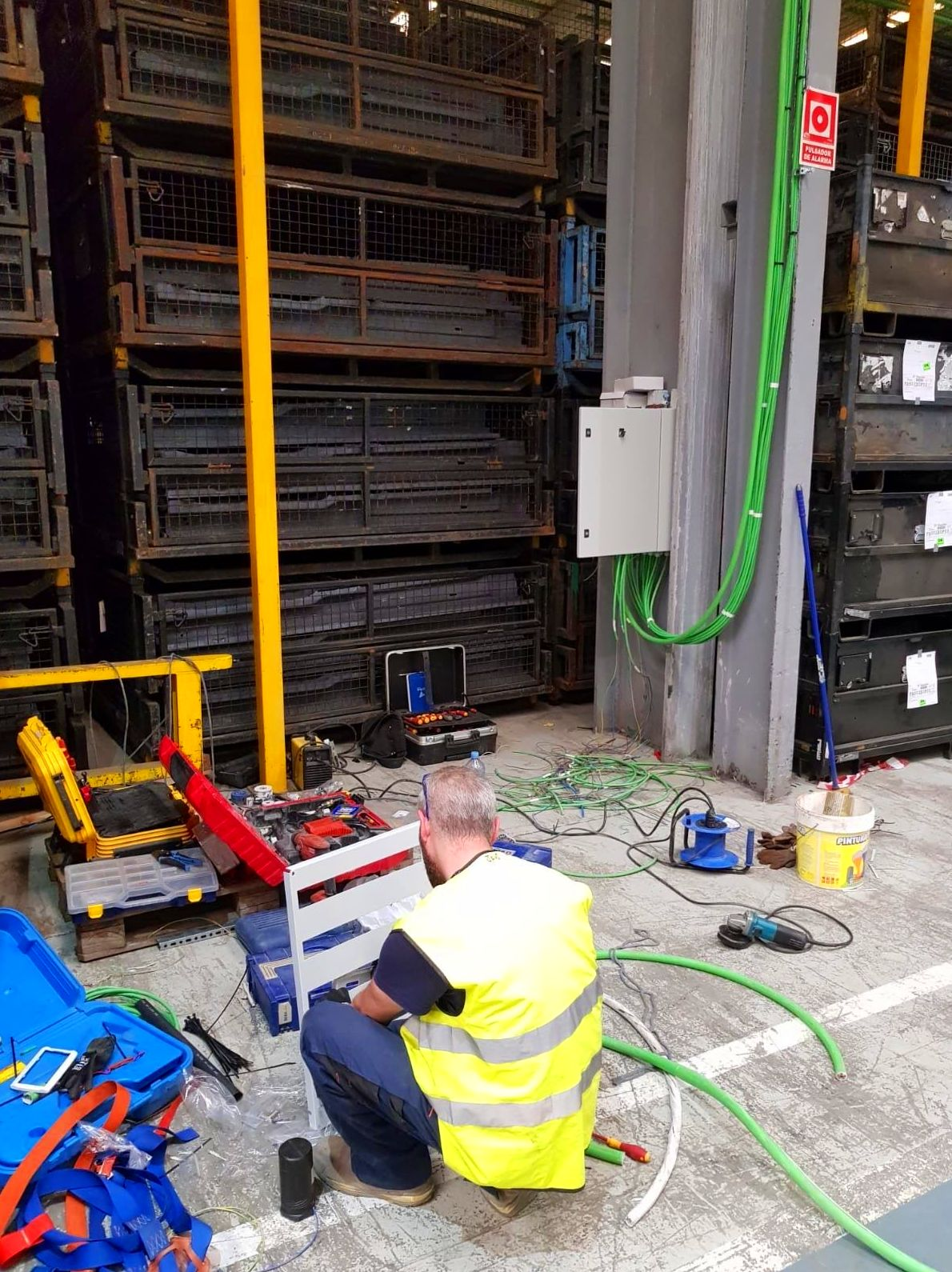 Instalación eléctrica industrial en Almussafes