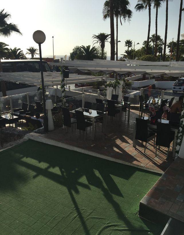 Restaurante con terraza en Costa Adeje
