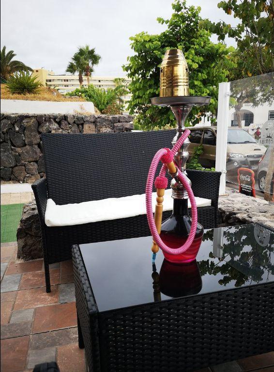 Bar con shishas en Costa Adeje