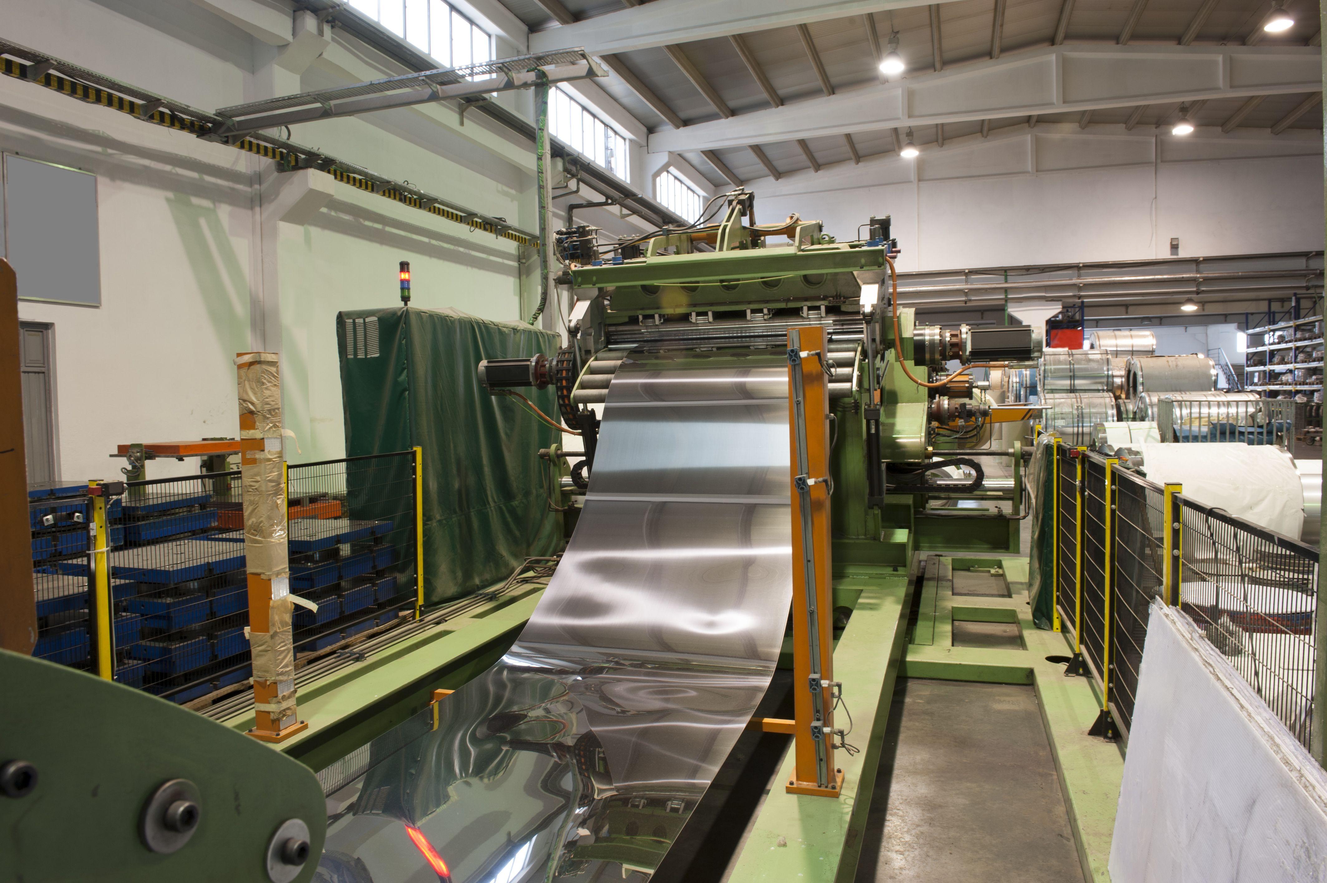 Exportación de productos siderúrgicos