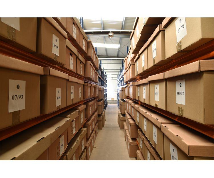 Almacén de gestión de archivos en Asturias