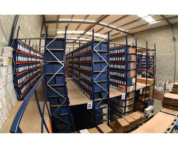 Almacén de digitalización de documentos en Asturias