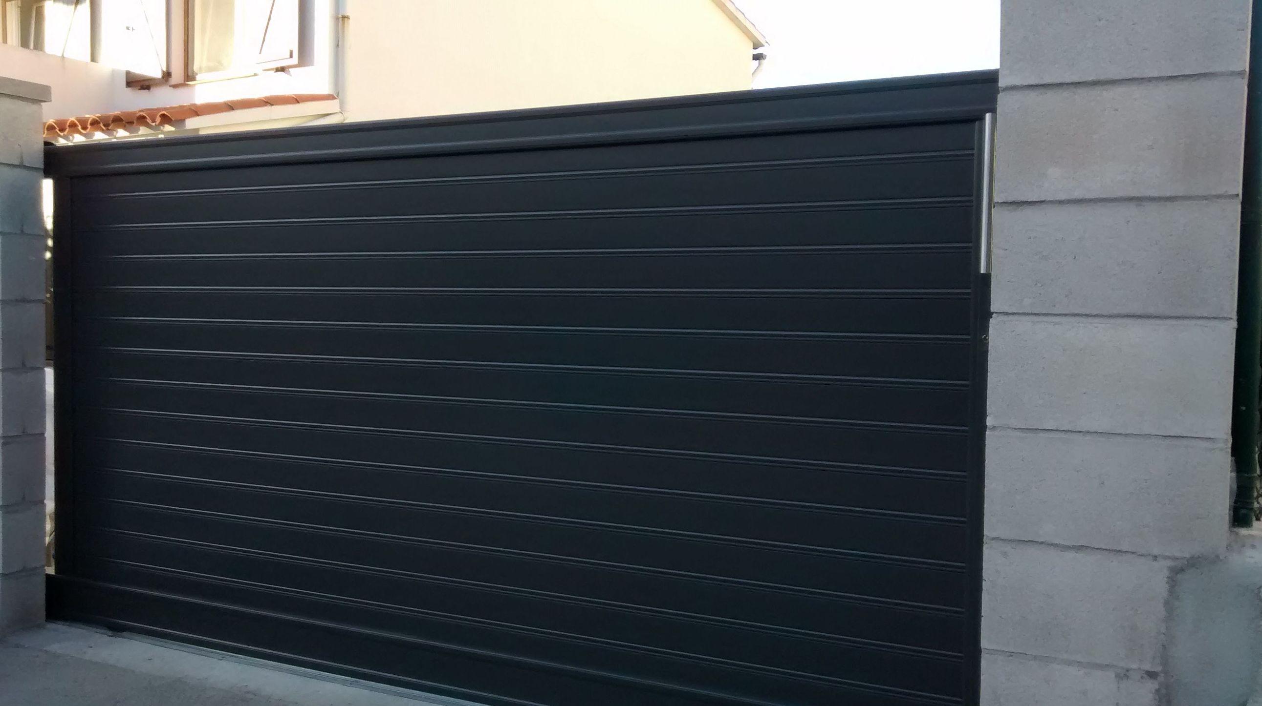 Puertas y vallas de jard n de hierro nuestros productos - Puertas para jardin de aluminio ...