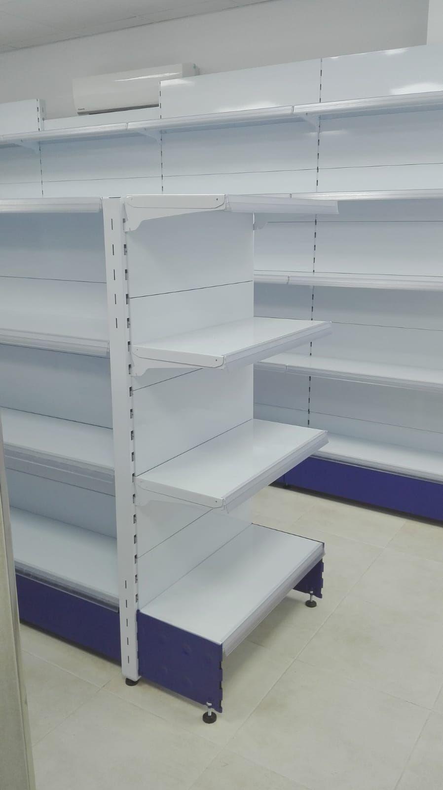 estantería para tienda 24 horas
