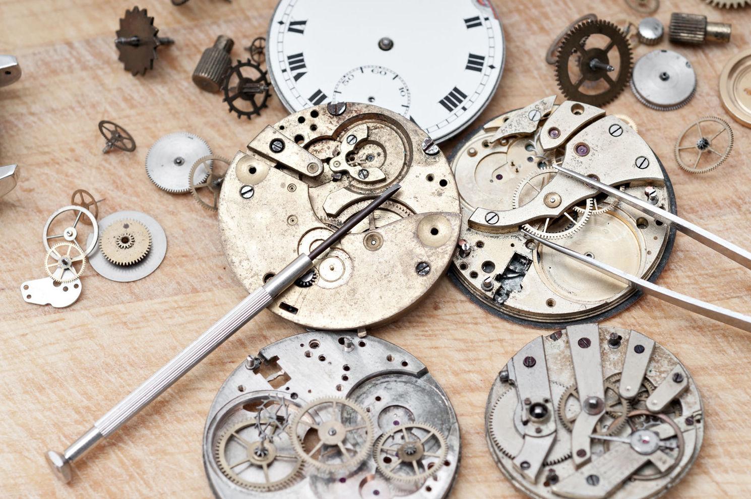 Reparación de todo tipo de relojes