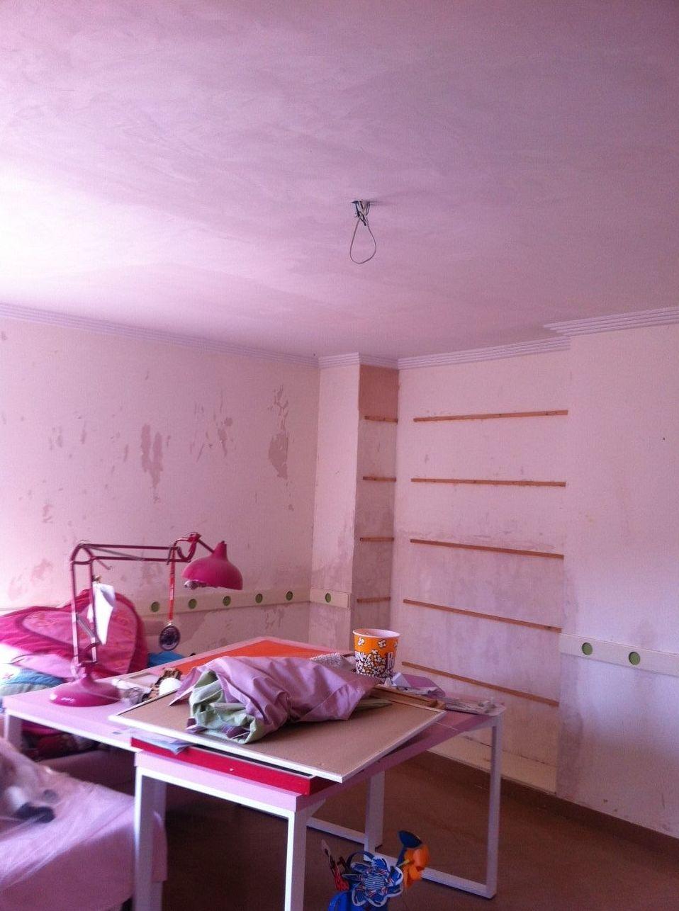 Reforma en dormitorio juvenil