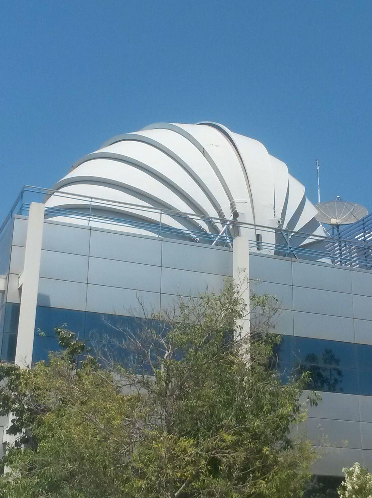 Construcción de cúpula