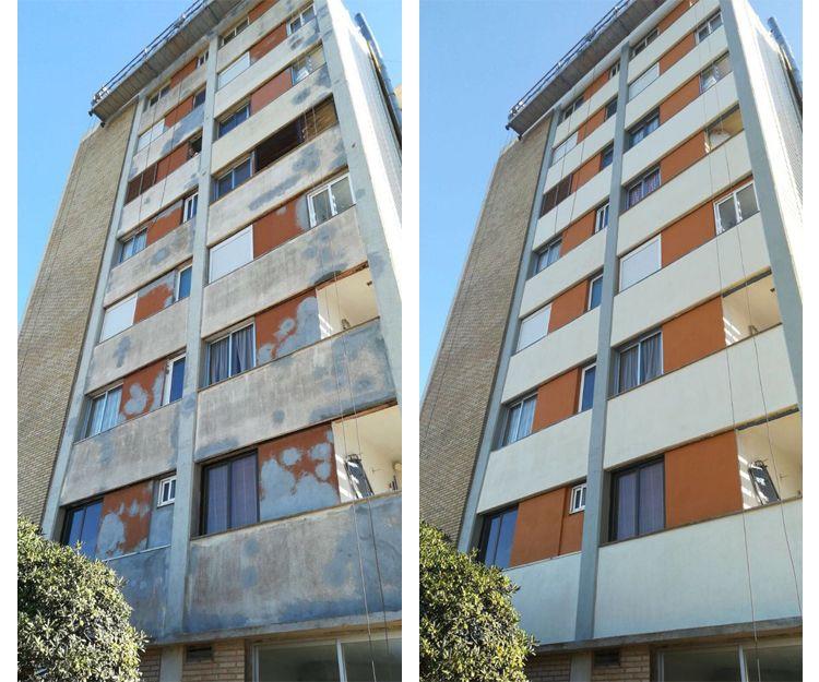 Rehablilitación de fachadas en Valencia