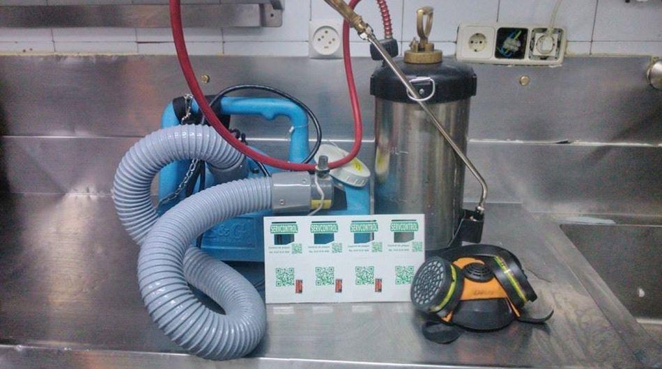 Equipos de higienización: Servicios de Servcontrol