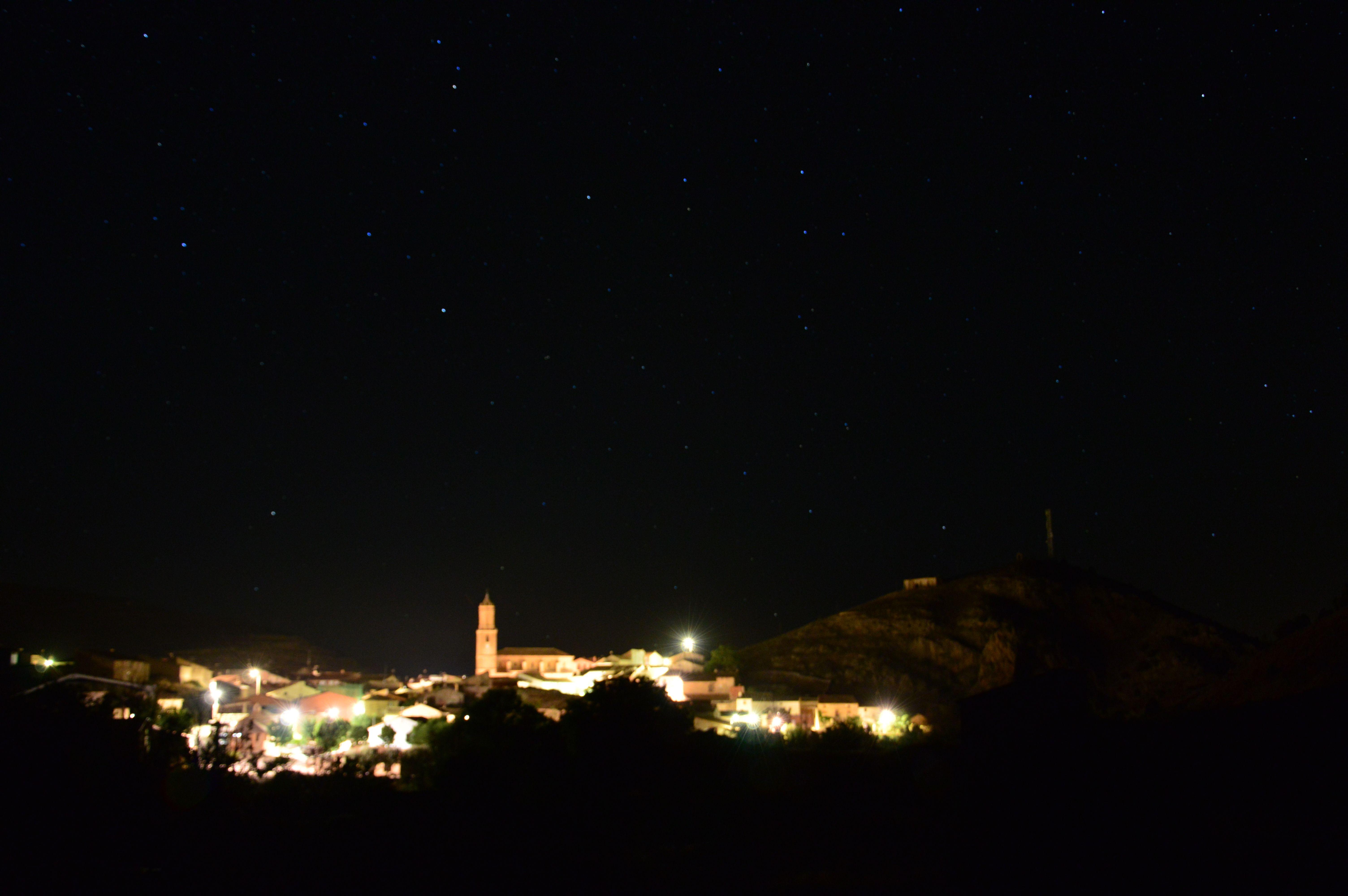 Magníficas vistas por la noche
