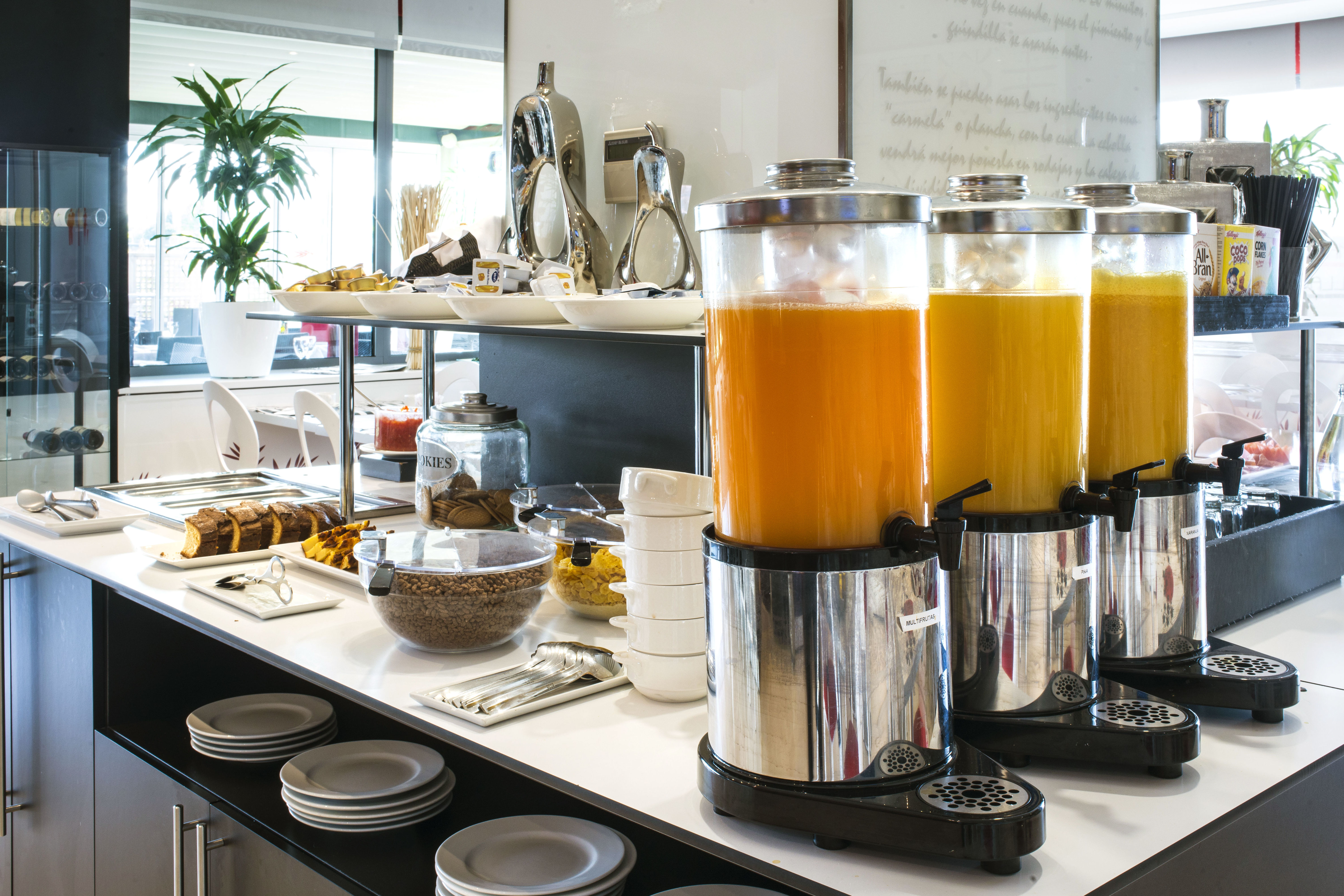 Buffet desayunos