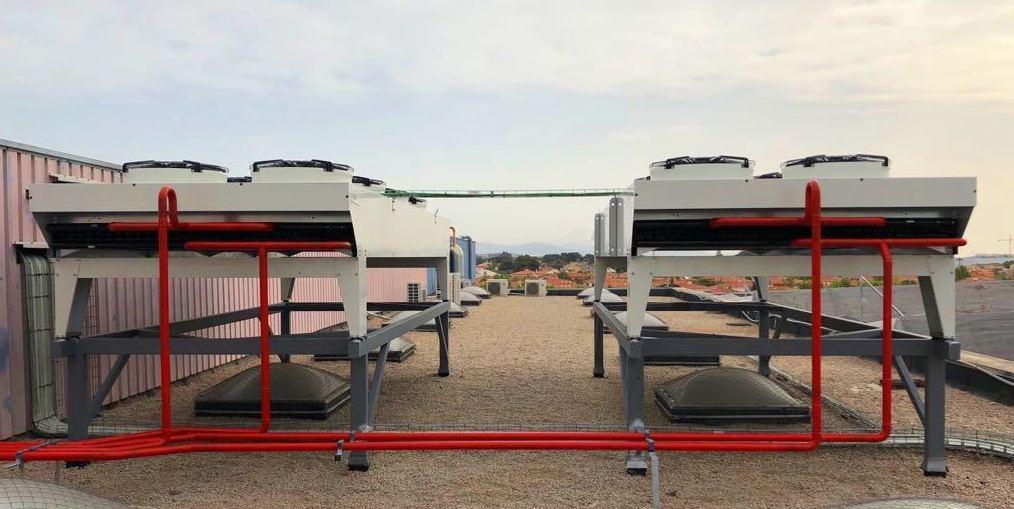 Venta de maquinaria de frío industrial: Servicios de Frío Cortes