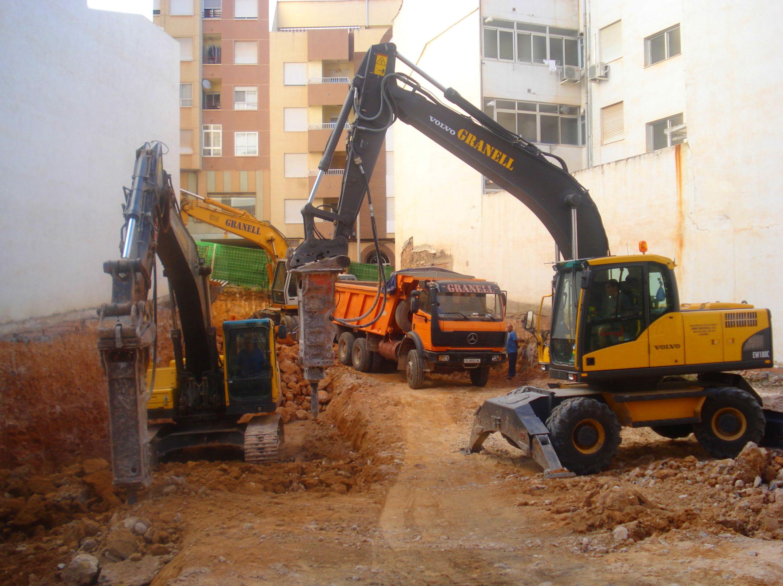 Empresa de excavaciones en Castellón