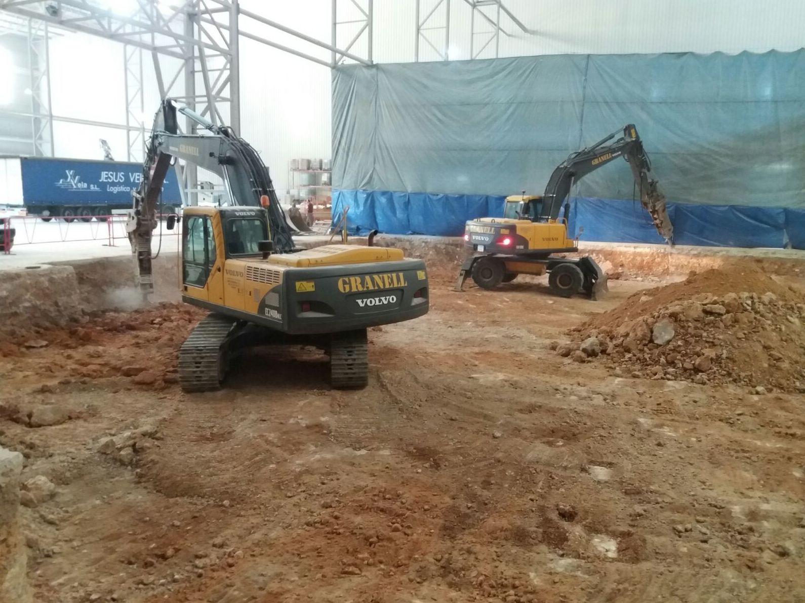 Foto 5 de Excavaciones en L'Alcora | Excavaciones José Granell