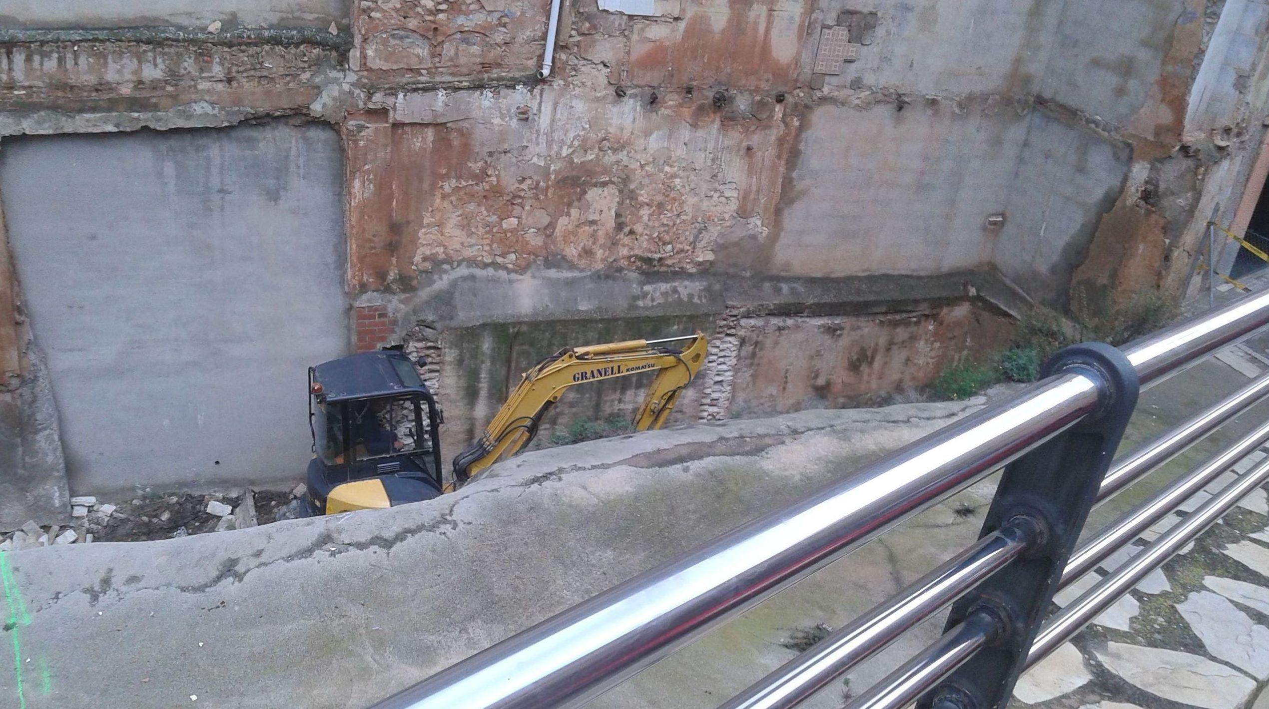Excavación de sótanos