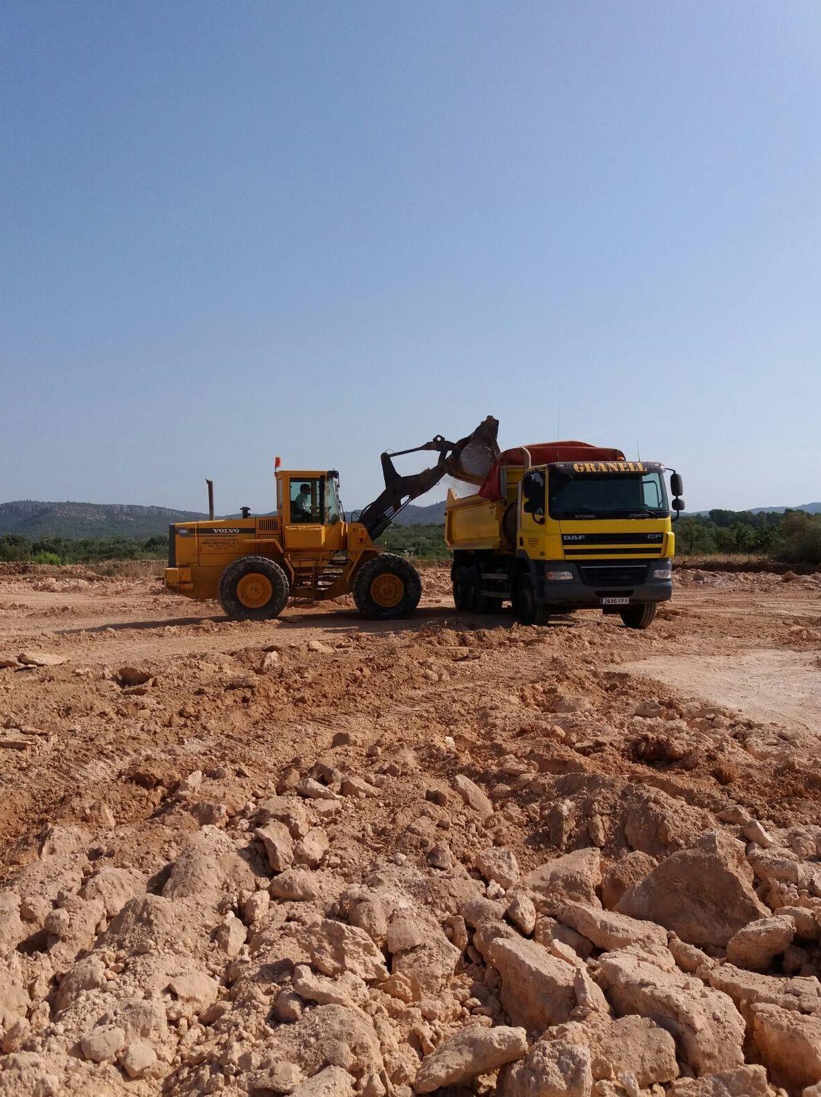 Foto 7 de Excavaciones en L'Alcora | Excavaciones José Granell