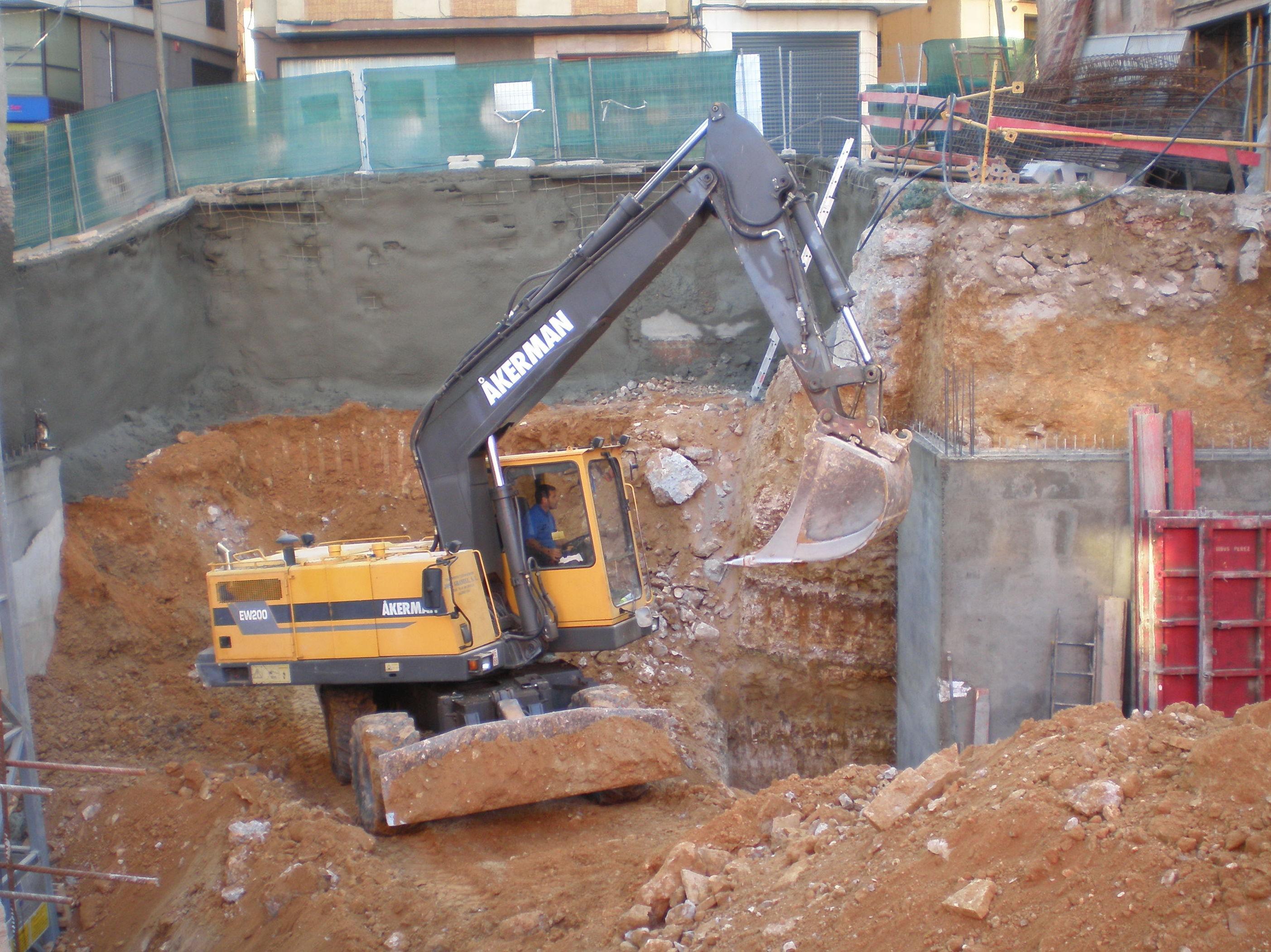 Maquinaria pesada para la construcción