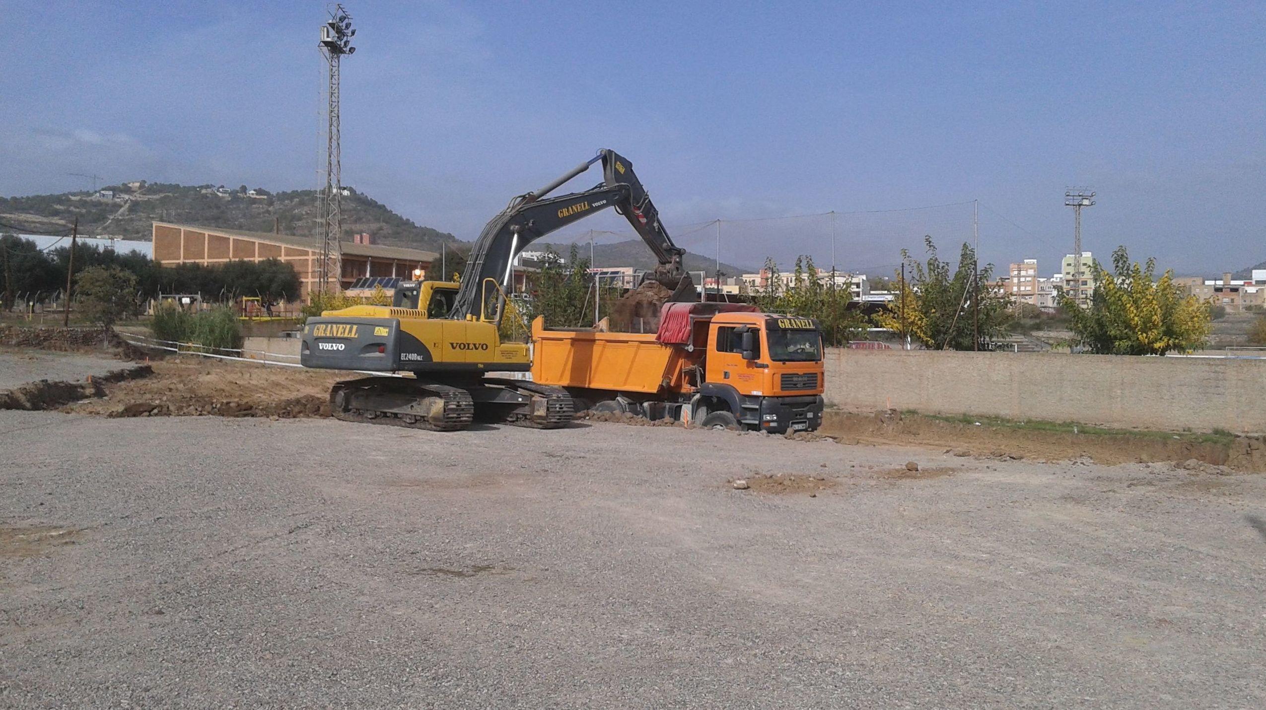 Movimientos de tierra en Castellón