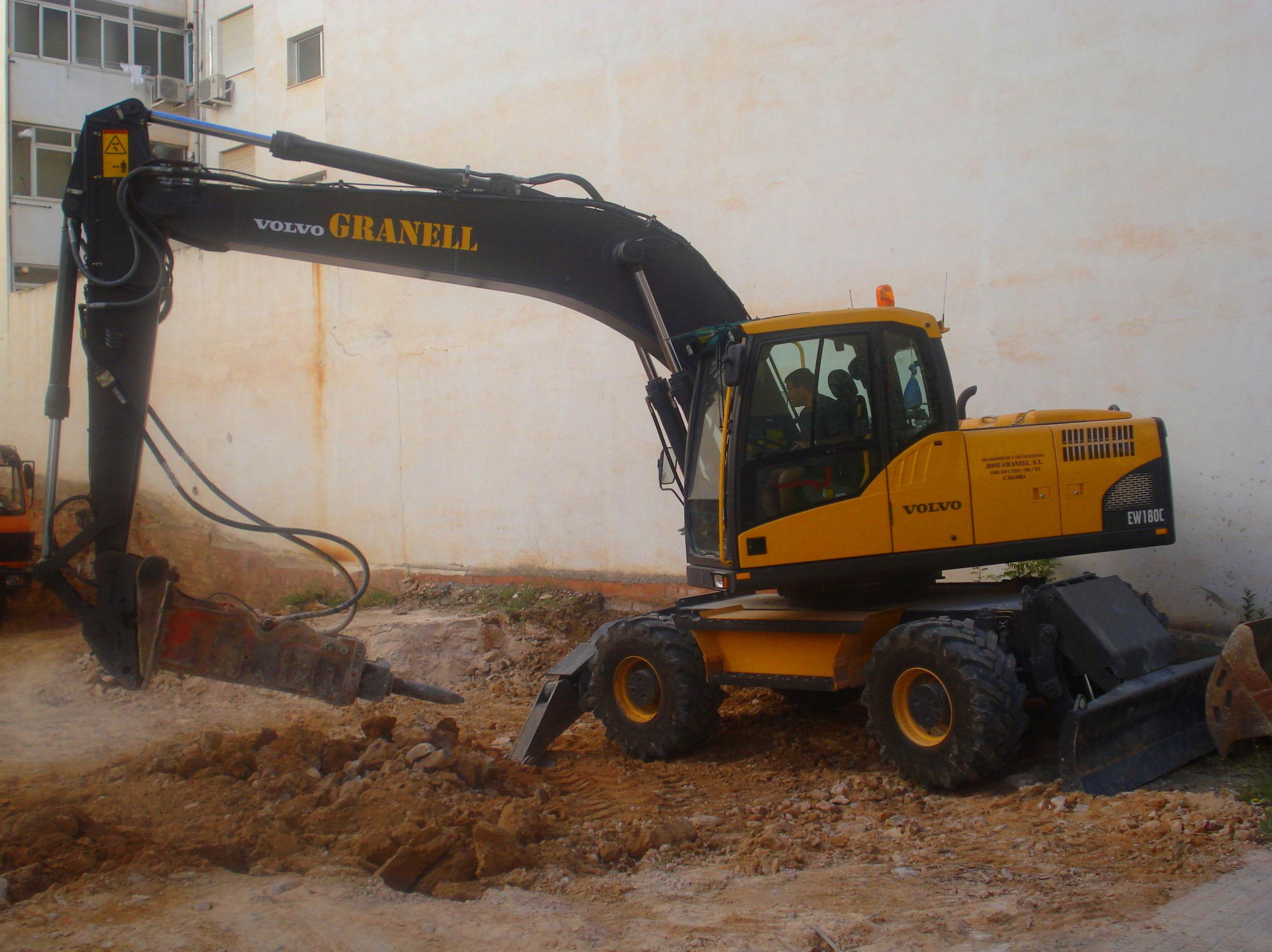 Excavaciones en Castellón