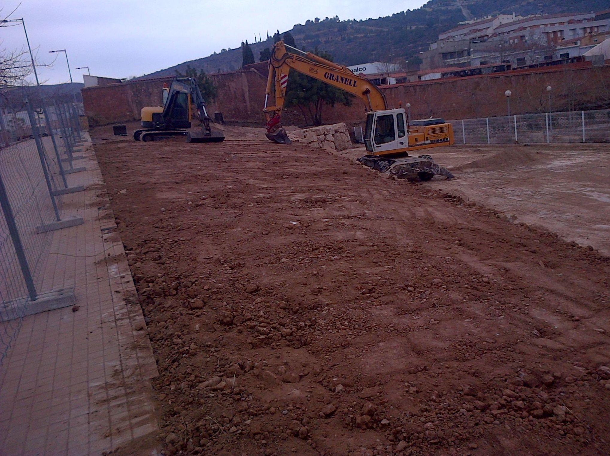 Construcción de muros de contención en Castellón