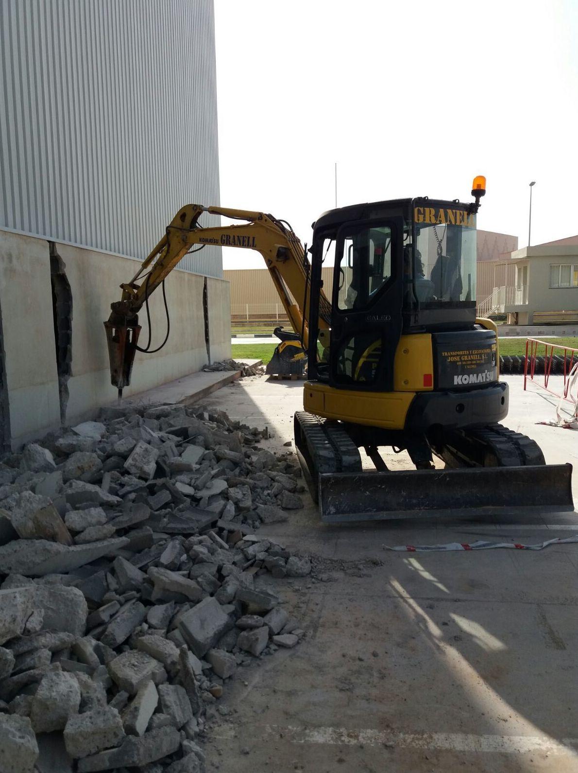 Foto 6 de Excavaciones en L'Alcora | Excavaciones José Granell
